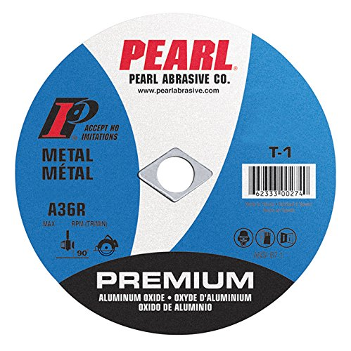 "Pearl 4"" x 1/8"" x 5/8"" Premium AL/OX Cut-Off Wheel (Pack of 25) - StaplerManiaStore"