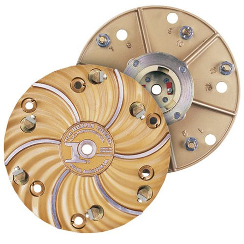"Pearl 15"" Hexplate With Superclutch And 6 - #4 Carbide Hexpin Assemblies HEX1706CBDCLT"