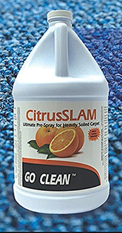 CitrusSlam by GoCLean Ultimate Pre Spray for Heavily Soiled Carpet 1-Gallon - StaplerManiaStore