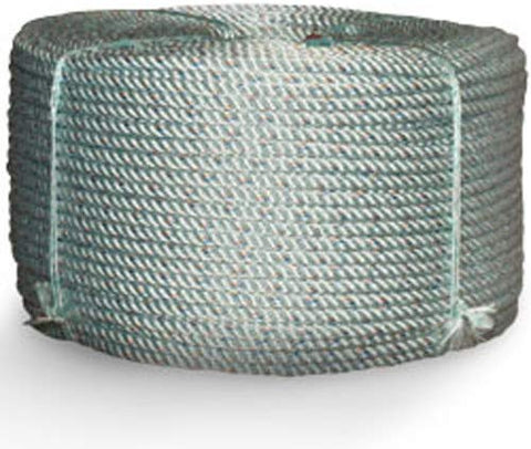 "Cwc 1/4"" Lead Rope- 600'  Polypropylene Leaded Manline - 1/4' x 600 ft, Sliver - StaplerManiaStore"