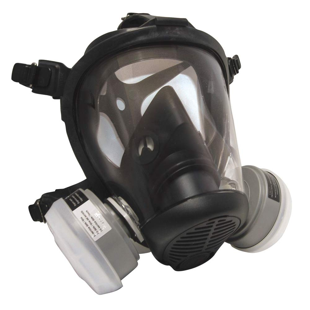 SAS Breathe Mate Full-Face Respirator OV/R95 - Broader spectrum of protection than N95 - StaplerManiaStore