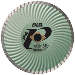 "Pearl 10"" x .080 x DIA - 5/8"" P4 Waved Core Turbo Diamond Blade - StaplerManiaStore"