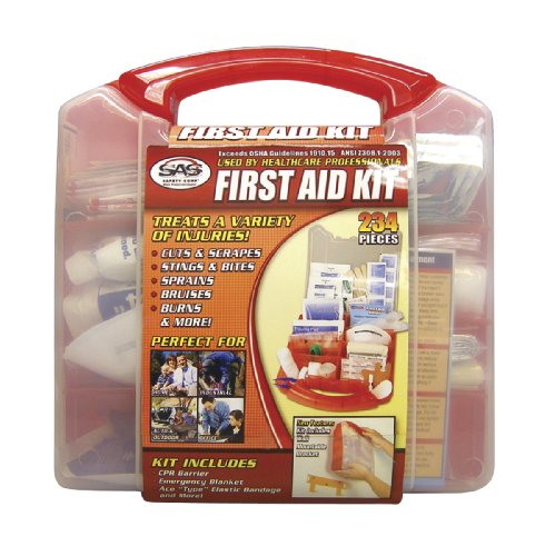 SAS Safety 6050 50-Person First-Aid Kit - StaplermaniaStore