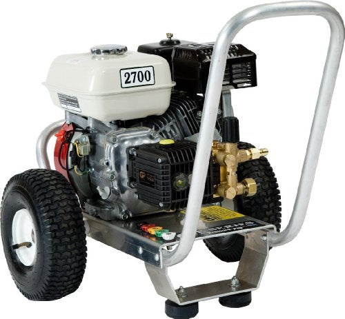 Pressure Pro E3027HG Heavy Duty Professional 2,700 PSI 3.0 GPM Honda Gas Powered Pressure Washer With General Pump