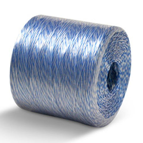 Conduit Pull Line - White & Blue - Single Tube - 6500', 210 lbs Tensile, 10# tube (1 Tube) - CWC-027016 - StaplerManiaStore
