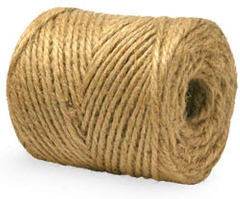 Jute Twine - 2-Ply, 15000' (Pack of 6 rolls) - StaplerManiaStore