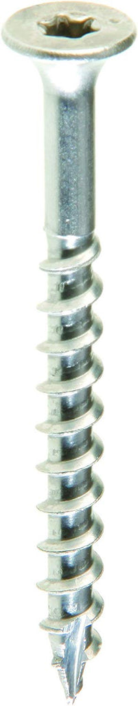 Grip Rite Prime Guard MAXS62570 Type 17 Point Deck Screw Number 10 by 3-Inch T25 Star Drive, Stainless Steel, 1500 Per Bucket - StaplerManiaStore