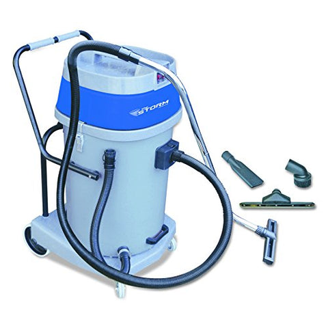 "Mercury Floor Machine WVP-20 Storm Wet and Dry Vaccum, 17"" Diameter, 36"" Length - StaplerManiaStore"