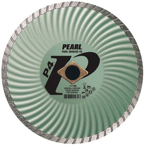 Pearl Abrasive DIA007SD Super Dry Series SD Green Turbo 7 by .080 by 7/8 DIA - 5/8 Adapter - StaplerManiaStore