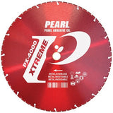 Pearl Abrasive Xtreme PX-4000 Diamond Blade for Cutting Metal