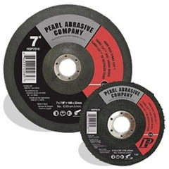 "Pearl Abrasive 7"" Turbo-Cut Disc, 16 Grit, Clean and Prep Wheel HSP7016"