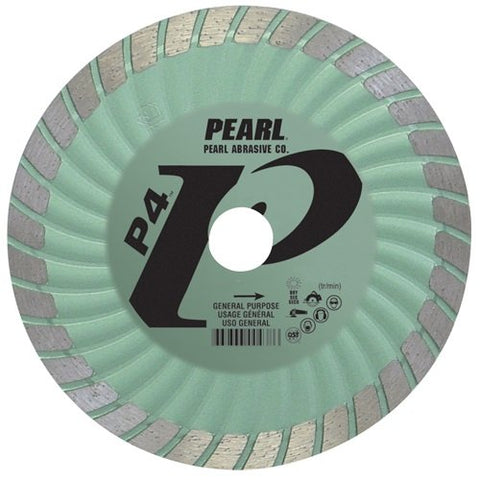 Pearl Abrasive DIA004SD Super Dry Series SD Green Turbo 4mm by .070mm by 20mm - 5/8 Adapter - StaplerManiaStore