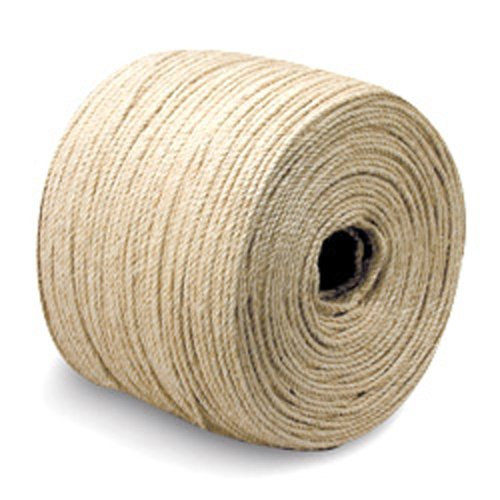 "3-Strand Sisal Rope - 3/16"" x 3300 ft. - StaplerManiaStore"