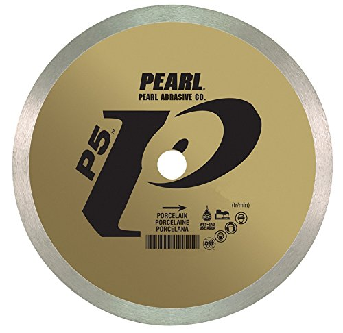 Pearl Abrasive P5 DIA08HP Tile and Stone Blade for Porcelain 8 x .060 x 5/8 - StaplerManiaStore