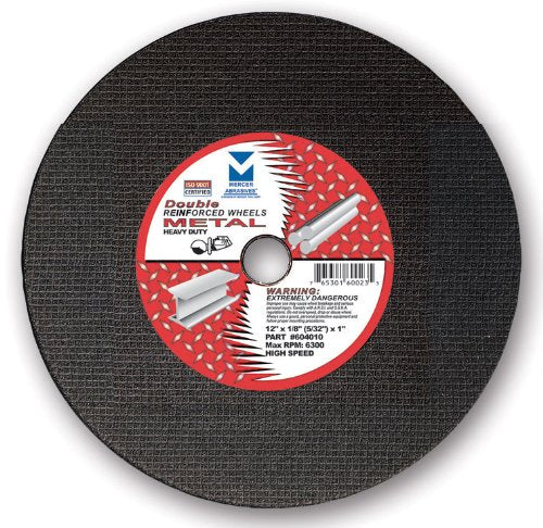 Mercer Abrasives High Speed Cut Off Wheels For Portable Gas Saws - StaplermaniaStore