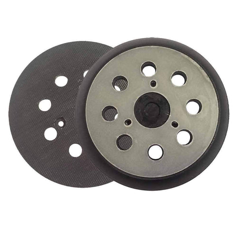 Superior Electric RSP27 5 Inch Sander Pad - Hook and Loop Replaces Makita OE # 743081-8, 743051-7 Hitachi OE # 324-209 - StaplerManiaStore