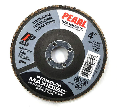 Pearl Premium Silicon Carbide T27 Flap Disc - StaplermaniaStore