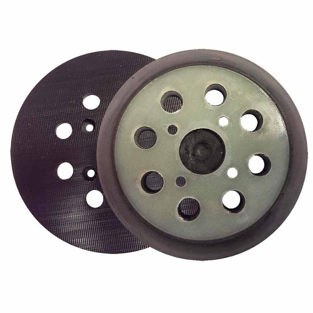 "Superior Pads RSP28 5"" Dia 8 Hole Hook & Loop Sander Pad - StaplermaniaStore"