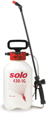 Solo 430-1G 1-Gallon Handheld Farm and Garden Sprayer, with Shut-off Valve and Unbreakable Wand - StaplerManiaStore