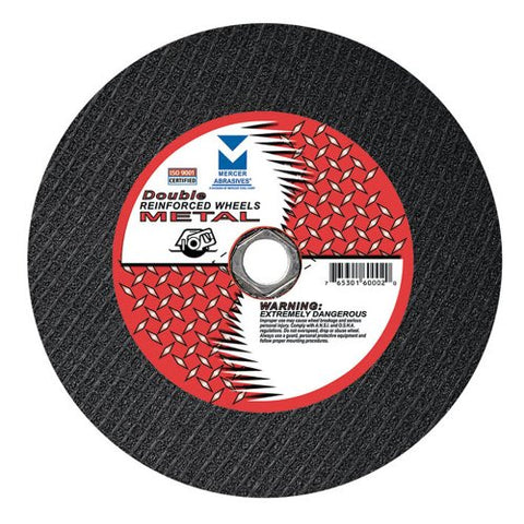 Mercer Abrasives Stationary Cut-Off Saw and Chop Saw Wheels - StaplerManiaStore
