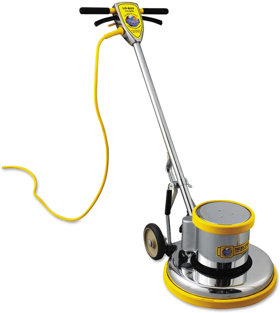 "MercuryFloor Machines PRO17 PRO-175-17 Floor Machine 1.5 HP 175 RPM 16"" Brush Diameter - StaplerManiaStore"