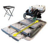 "Pearl Abrasive VX10.2XLPRO KIT 10"" Professional Tile Saw w/folding stand - StaplerManiaStore"