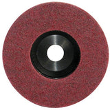 "Pearl 4-1/2"" x 7/8"" Al/Ox Surface Preparation Wheel (Pack of 10) - StaplerManiaStore"