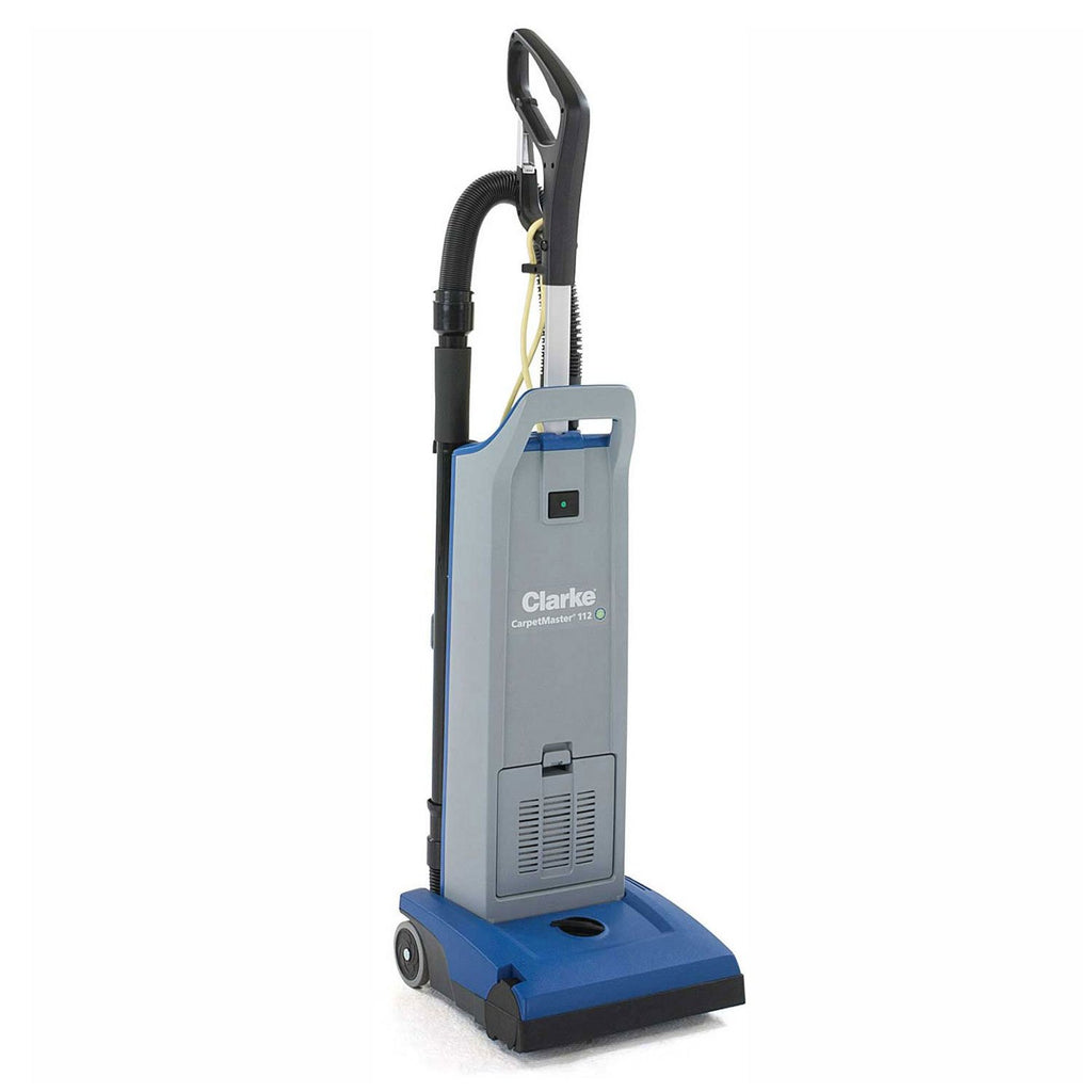 Clarke CarpetMaster 112 Single Motor Commercial Upright Vacuum 12 Inch - StaplermaniaStore