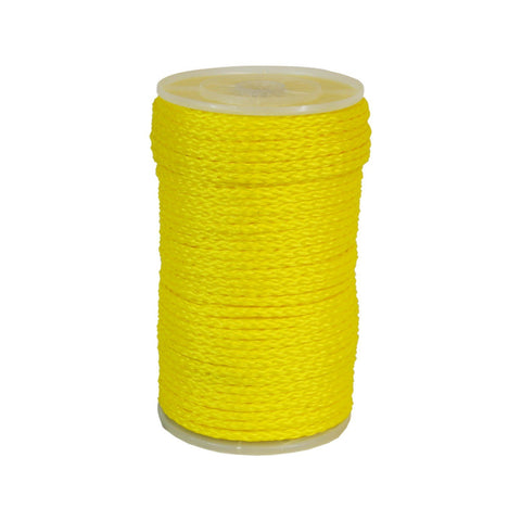 100055 5/16 Inch Hollow Braid Monofilament Polypropylene Rope 500' - StaplerManiaStore