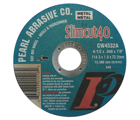 Pearl Abrasive CW4532A Thin Cut-Off Wheels - StaplerManiaStore