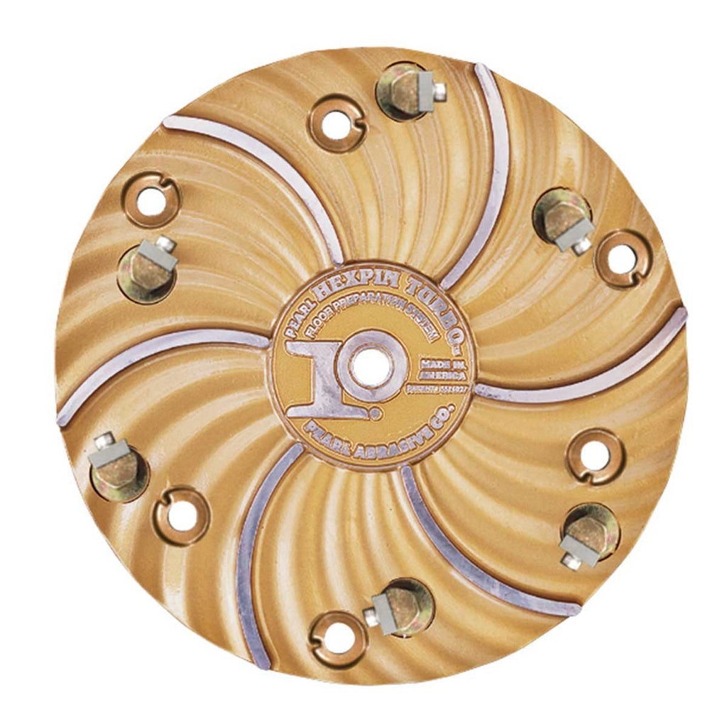 "Pearl Hexplate 15"" Speed Scraper with 6 carbide #4 Chips HEX1706CBD - StaplermaniaStore"