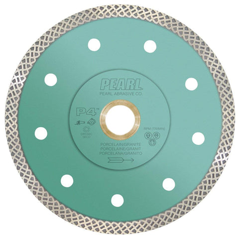 Pearl Abrasive P4 Turbo Mesh Blade for Porcelain and Granite - StaplerManiaStore