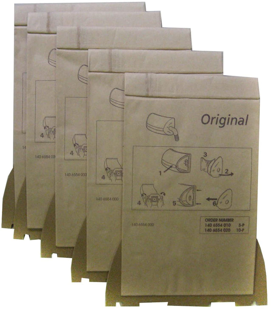 Nilfisk Paper Dust Bag for UZ 964-5 Bags/Pack - StaplermaniaStore