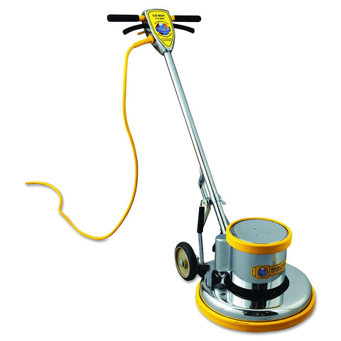 "Mercury L-17E Lo-Boy Floor Machine, 17"" Apron, 1.5 HP Motor, 175 RPM Brush Speed - StaplerManiaStore"