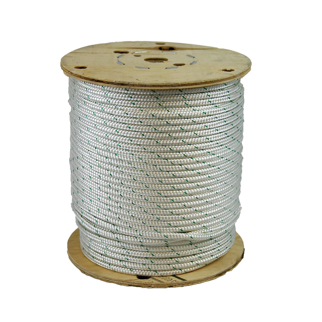 "CWC 347040 3/8"" Double Braid Polyester Rope 600' - StaplermaniaStore"