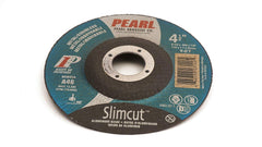 "Pearl 4 1/2"" x .045 x 7/8"" Depressed Center Cut-Off Wheels (Pack of 25) - StaplerManiaStore"