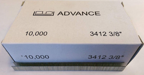 "Advance  3412C 3/8"" Staples For Duo-Fast 3400 Series Staplers - StaplerManiaStore"