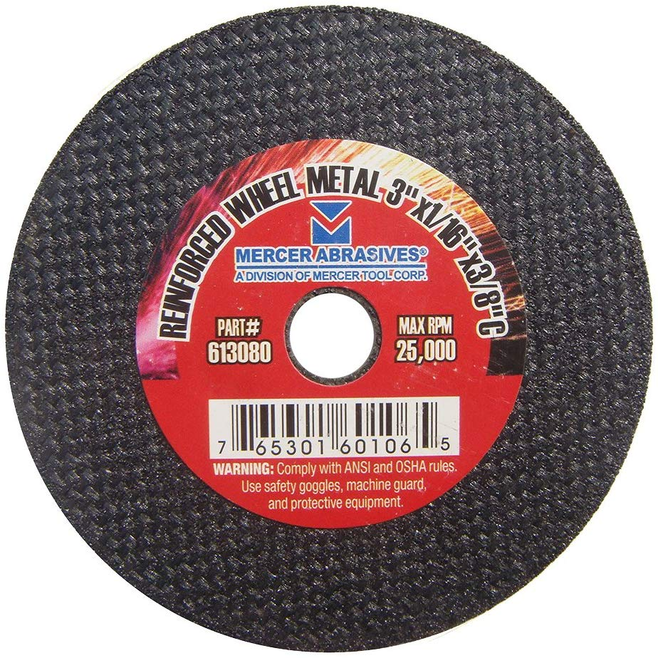 Mercer Industries Metal Cut-Off Wheel - StaplerManiaStore