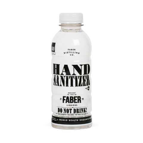 Faber Hand Sanitizer Unscented Liquid Antiseptic Hand Sanitizer - StaplermaniaStore