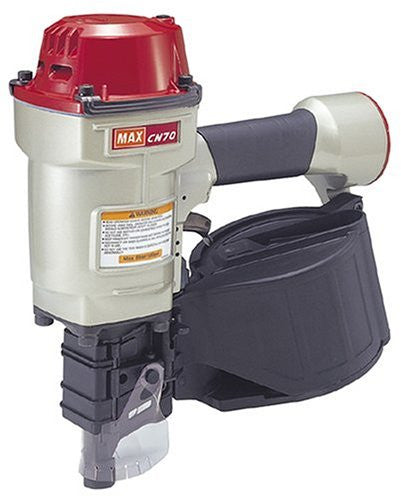 Max CN70  Coil Nailer 15 Degree 1-3/4-Inch to 2-3/4-Inch Heavy Duty - StaplerManiaStore