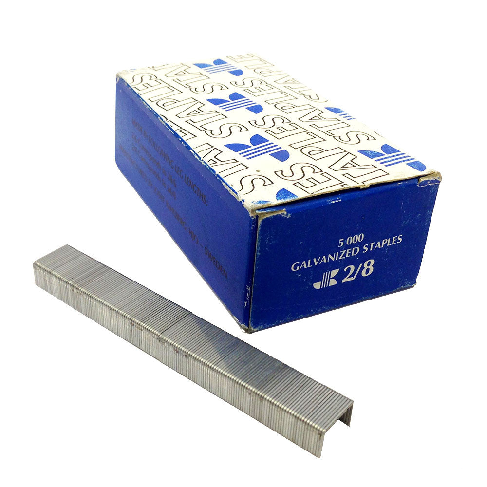 Josef Kihlberg JK 2/8 Galvanized Staple  5,000/Box - StaplermaniaStore