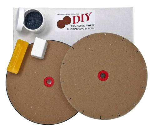 Pro Sharpening Supplies DIY Paper Sharpening Wheels