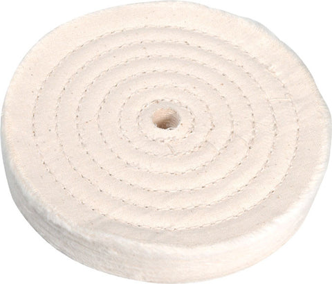 "Enkay 6"" Cloth Buffing Wheel - 1/2"" Bore"