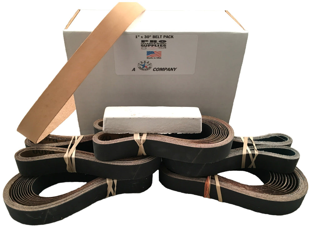 1 quot x30 quot sharpening belt pack 120 400 600 800 1000