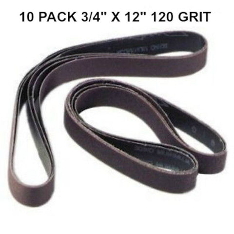 Ken Onion Work Sharp Replacement Belts - Multiple Grits and Grit Material Available - Ceramic Silicon Carbide Aluminum Oxide - Coarse to Ultra Fine