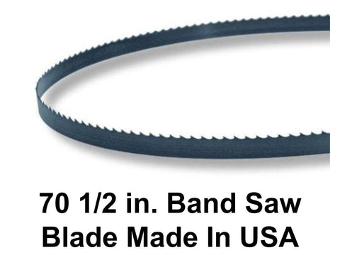 70 1/2 in. Bandsaw Blade - Multiple Widths & TPI (Teeth Per Inch) Available