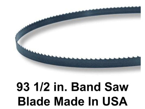 93 1/2 in. Bandsaw Blade -Hardened Carbon Steel Flex-Back Hook Tooth Band Saw Blade