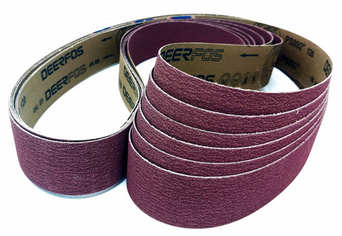 2x72 PREMIUM LONG LASTING CERAMIC SHARPENING & SANDING BELTS FOR KNIFEMAKERS 6 PACKS