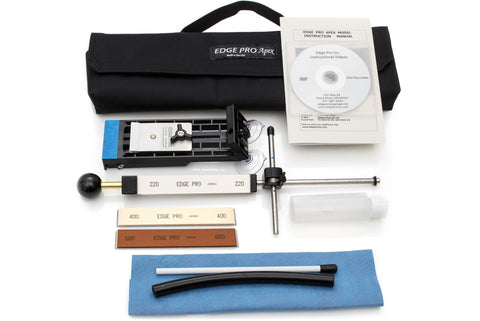 Edge Pro Apex 2 Sharpening System - Hand Sharpening - Complete Kit w/Stones