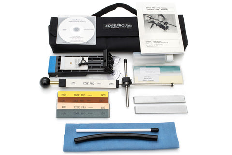 Edge Pro Apex 4 Sharpening System - Hand Sharpening - Complete Kit w/Stones